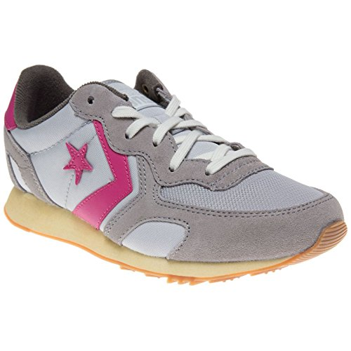 Converse, Aukland Racer OX Nylon/Suede, Sneaker unisex - adulto Grau