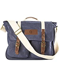 Cathy's Concepts Navy Personalized Messenger Bag, Letter O