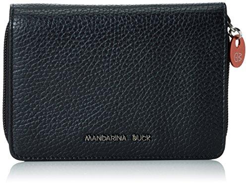 Mandarina DuckMELLOW LEATHER PORTAFOGLIO BLA - Portafogli Donna , Nero (Schwarz (BLACK 651)), 14x3x10 cm (B x H x T)