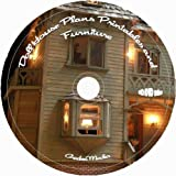 Dollhouse Plans and Dollhouse Furniture Plans on CD : 40 Dollhouse Plans with 2400 of Printable Dollhouse Miniatures on CD