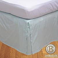 RoyalLinens 500tc 100% algodón Egipcio Elegante Acabado 1 Pieza faldón Plisado de Caja sólido (