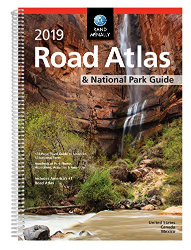Rand McNally 2019 Road Atlas & National Park Guide: United States, Canada, Mexico