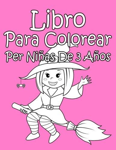 Libro Para Colorear Per Niñas De 3 Años