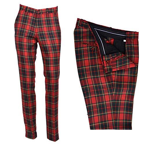 Sta Press - Pantalones de Golf para Hombre