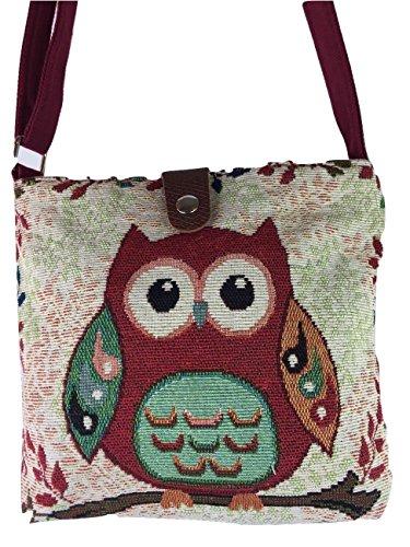 Isabelle Boutique ,  Strandtasche Gr. S, Big Eye Owl