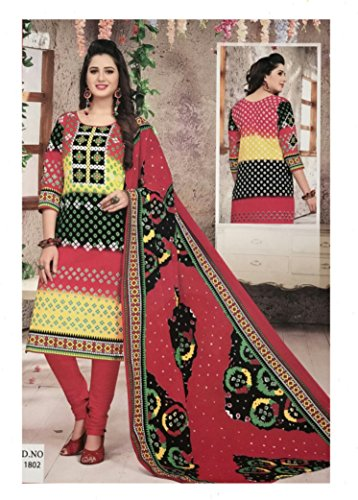 Mishri Collection Salwar Kameez Dupatta Indian Dress Material in Multi Design Shade...