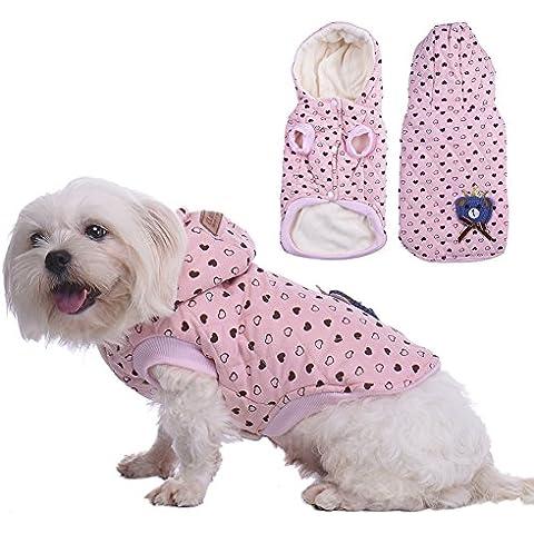 WIDEN Para mascotas ropa para perros ropa de invierno de cuatro patas capa de la chaqueta de la locomotora productos para