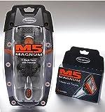 M5 Magnum 5 razor Blades with Trimmer, 12 Catridges + Razor + Travel Case by Magnum M5