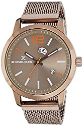 Daniel Klein Analog Brown Dial Mens Watch - DK11625-1