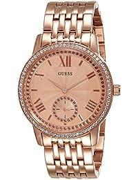 Guess Femme Montre bracelet quartz chronographe acier inoxydable w0573l3