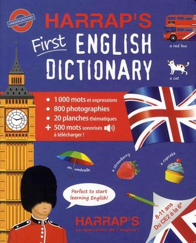 My first english dictionary 100 % audio par Collectif