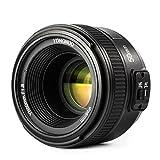 Yongnuo YN 50MM f/1.8 AF Lente Objetivo (Apertura F/1.8) F Mount, AI Mount para Nikon DSLR Cámara...