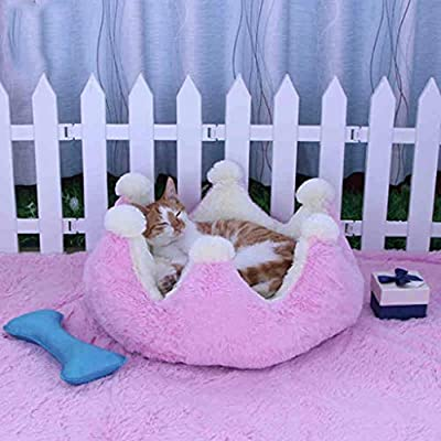 GWM PV Velvet Fabric, Filled With PP Cotton Pet Bed, Cushion,45X45X22CM by GWM