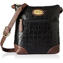 Hidesign EOSS Women's Sling Bag (Black Tan)
