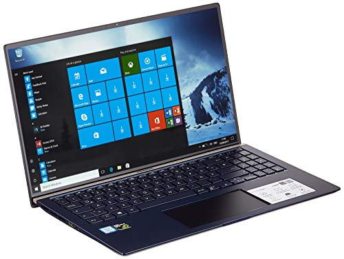 ASUS ZenBook 15 UX534FT (90NB0NK3-M00240) 39,6cm (15,6 Zoll, FHD, WV) Ultrabook (Intel Core i7-8565U, 16GB RAM, 512GB SSD, NVIDIA GeForce GTX 1050 Ti (4GB), Windows 10) royal blue