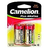 Camelion 11000214 - Pack de 2 pilas alcalinas, 1.5 V
