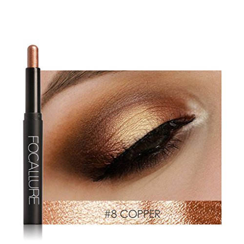 Meisijia Wasserdichte automatische Rotation Highlighter Lidschatten Bleistift Kosmetik Glitter Eye Shadow Pen