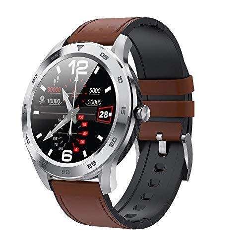 Orologio Intelligente Braccialetto Affari Moda Ecg Sangue La Pressione Monitoraggio Sport Bluetooth Chiamata Argento