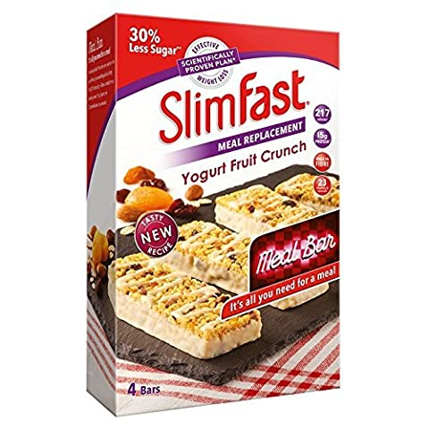 SlimFast Yogurt Fruit Crunch Meal Bars