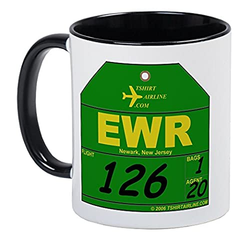CafePress - EWR - Newark, NJ Mug - Unique Coffee Mug, Coffee Cup, Tea Cup