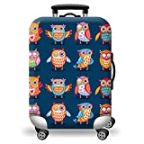 #9: Jelinda Suitcase Cover Super Lightweight Luggage Cover Elastic Dust-Proof Durable Stretchable Luggage Protector for 18-28 inch (S)