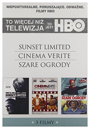 To jest HBO 1: Sunset Limited / Cinema Verite / Szare ogrody [3DVD] (Keine deutsche Version)