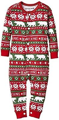 Hatley Infant Union Suit - Beary Xmas-Pijama Bebé niños