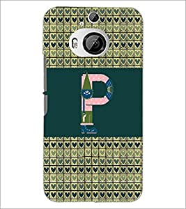 PrintDhaba GRANDbet P D-4647 Back Case Cover for HTC ONE M9 PLUS (Multi-Coloured)