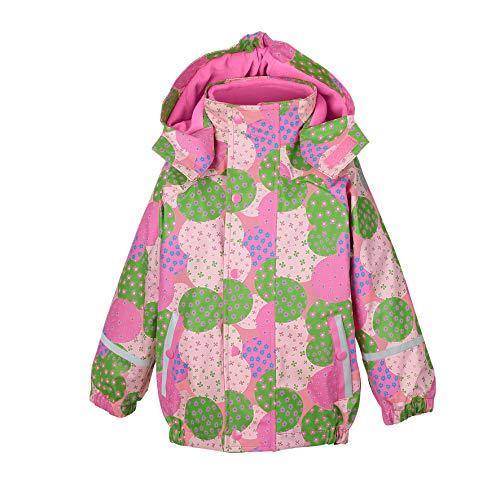 Sterntaler Mädchen Regenjacke mit Innenjacke, 3in1 Multifunktionsjacke, Alter: 3-4 Jahre, Größe: 104, Rosa (Hortensie)