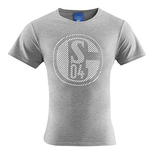 FC Schalke 04Classic Kids–Camiseta, Gris, 140