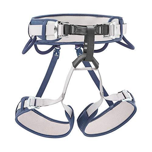 Petzl Erwachsene Corax Harness 1 Klettergurt, Blue Jean, One Size