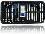 Präparierbesteck Sezierbesteck Set zum Präparieren mit Instrumenten aus Edelstahl