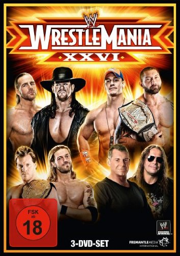 WWE - Wrestlemania XXVI [3 DVDs]