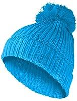 MasterDis KMA Beanie Basic Pompon Mütze Turquoise