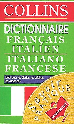 Dictionnaire Collins français-italien, italien-français par Ettore Zelioli