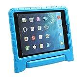 iPad 9.7 2017 2018 Kinder Schutzhülle LEADSTAR Kinderfreundlich Kinder Schutz Hülle EVA Case Leichte Stoßfeste Schutzhülle Tasche Cover für Apple iPad Air / iPad Air2 / iPad 9.7 2017 / iPad 9.7 2018 (Blau)
