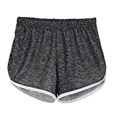 IBLUELOVER Studentin und Damsen Sport Badeshorts Mini Shorts Lässig Kurz Badeshorts Strandshorts Beach Shorts Kurz Lässige Sommershorts Hotpants Workout Yoga Gym Hotpants