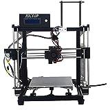 Composants de l'imprimante 3D Prusa I3 HICTOP DIY Kits 3DP-11 machine de cadeau Cadre en aluminium pour les hommes (noir)