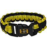 NCAA Collegiate Survivor Cord Armband, groß, Missouri Tigers