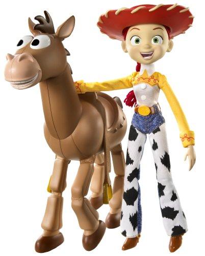 Mattel R7213 - Toy Story 3 Jessie mit Bullseye
