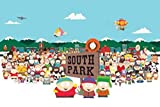 South Park/Cast Poster Drucken (91,44 x 60,96 cm)
