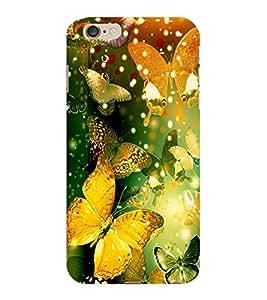 ColourCraft Beautiful Butterflies Design Back Case Cover for APPLE IPHONE 6S PLUS