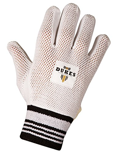 DUKES New Cricket Baumwolle gepolsterte Handschuhe für Wicketkeeper Innere Handschuhe–Paar, Jungen