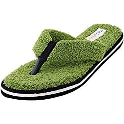 Travelkhushi Grass Terry Flip-Flops for Women - Memory Foam