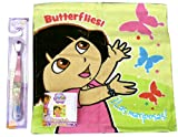 Dora the Explorer Face Wash Tuch & Zahnbürste ideal Geschenk Kinder/Kids