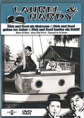 Y Doof Dick Kostüm - Laurel & Hardy: Als Matrosen & Gehen vor Anker (DVD 2001)