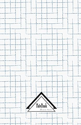 Notebook Journal Dot-Grid,Graph,Lined,No lined: Graph Grid Blue Pen Draw: Small Pocket Notebook Journal Diary, 120 pages, 5.5