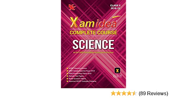 8b802542 Xam Idea Complete Course Science Class 10 for 2019 Exam: Amazon.in: VK  Global Publications: Books