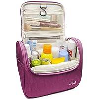 Cosmetic bag borsa da toilette sacchetto cosmetico, con gancio e maniglia, dimensioni: 24 x 19,5 x 12,5 cm