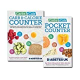 Carbs & Cals Collection 2 Books Set, Diabetes, Weight Loss & Healthy Eating. (Carbs & Cals: Count your Carbs & Calories with over 1,700 Food & Drink Photos! and Carbs & Cals Pocket Counter)